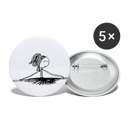 Ballerina (by Kenzie) - Buttons small 1'' (5-pack)