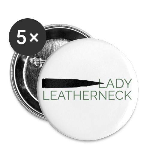 Lady Leatherneck - Buttons small 1'' (5-pack)