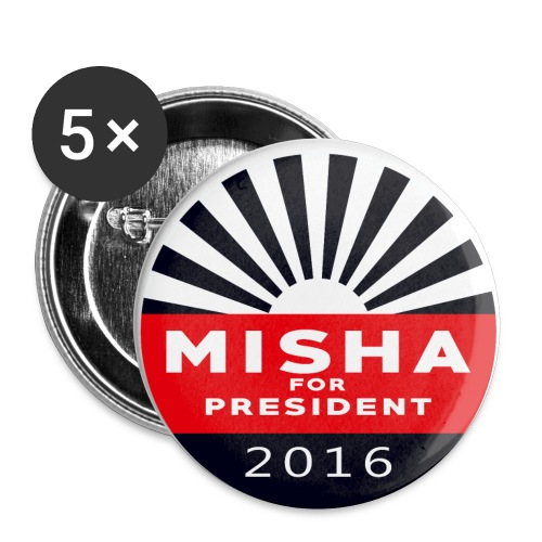 Misha 4 President Button - Buttons small 1'' (5-pack)