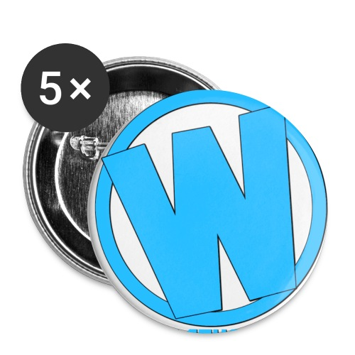 logob TWTG png - Buttons small 1'' (5-pack)