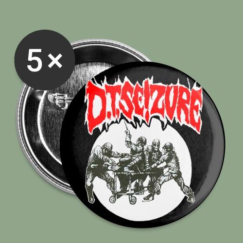 D T Seizure Detox Clinic Button - Buttons small 1'' (5-pack)