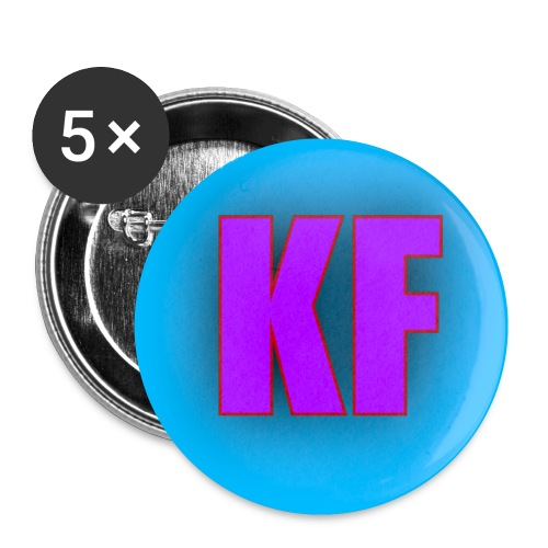 Khan Family Accessories - Buttons small 1'' (5-pack)