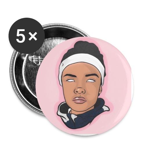 ChampagneDani Art - Buttons small 1'' (5-pack)