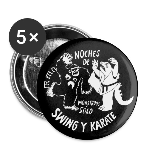 Swing and karate (button) - Small Buttons