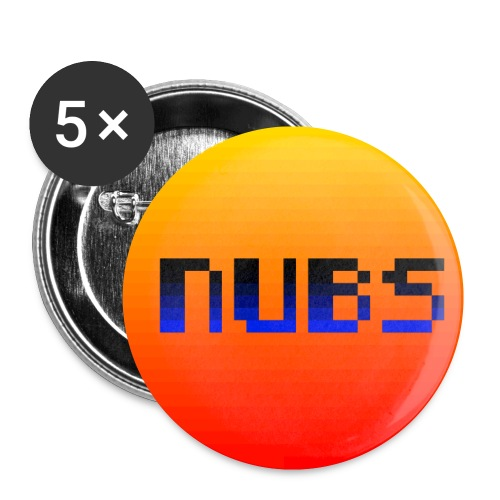 nubs - Buttons small 1'' (5-pack)