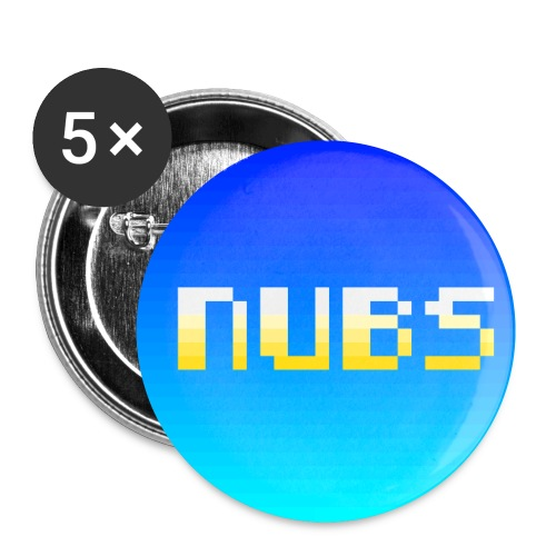 cool nubs - Buttons small 1'' (5-pack)
