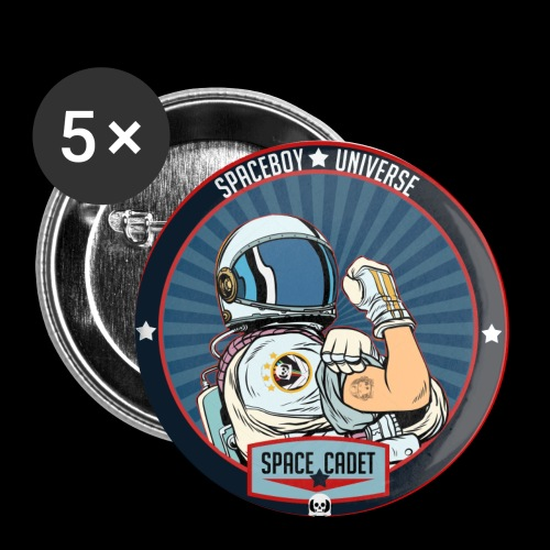 Space Cadet Can Do Badge - Buttons small 1'' (5-pack)