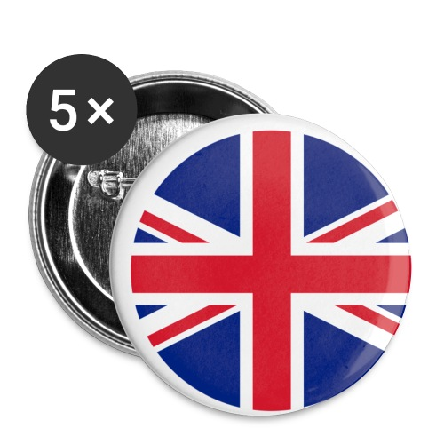 uk - Buttons small 1'' (5-pack)
