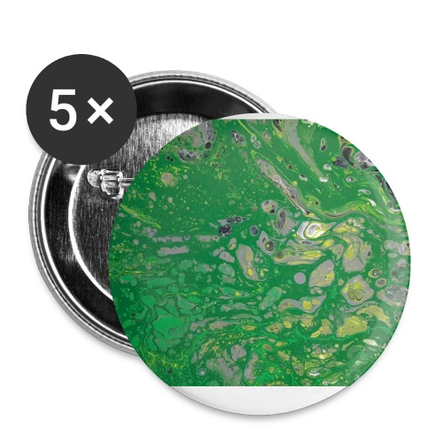 Green bubbles - Small Buttons