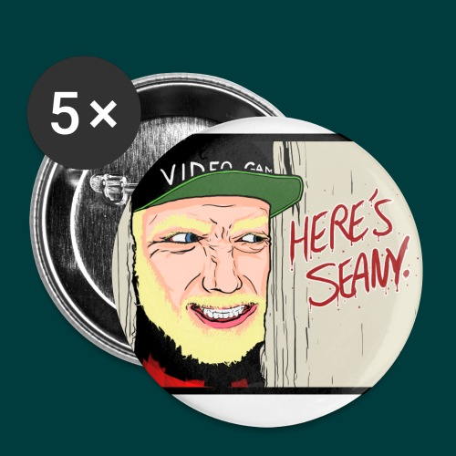 Here's Seany - Buttons small 1'' (5-pack)