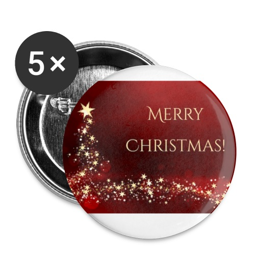 Merry Chrismas - Small Buttons