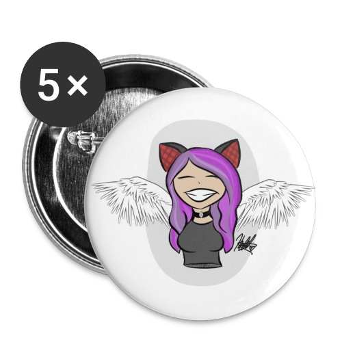 Cat girl chibi - Small Buttons