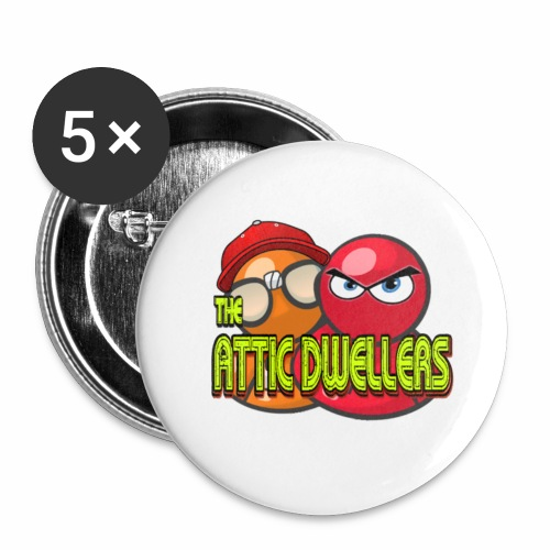 The Attic Dwellers (Logo) - Small Buttons