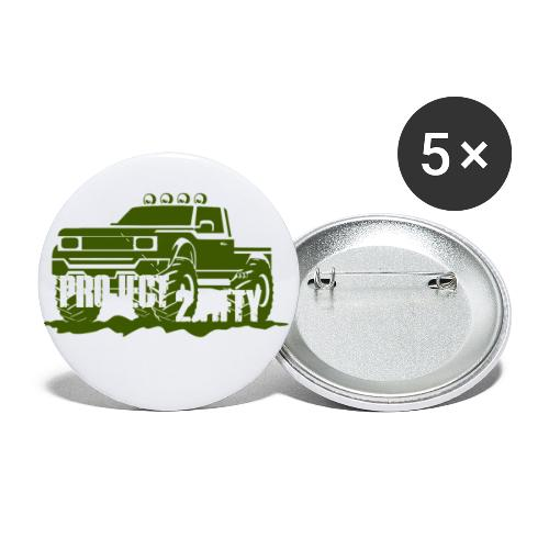 Project 250 - Buttons small 1'' (5-pack)
