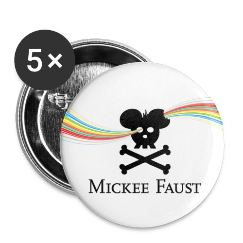 faustlogo rnbweye - Buttons small 1'' (5-pack)