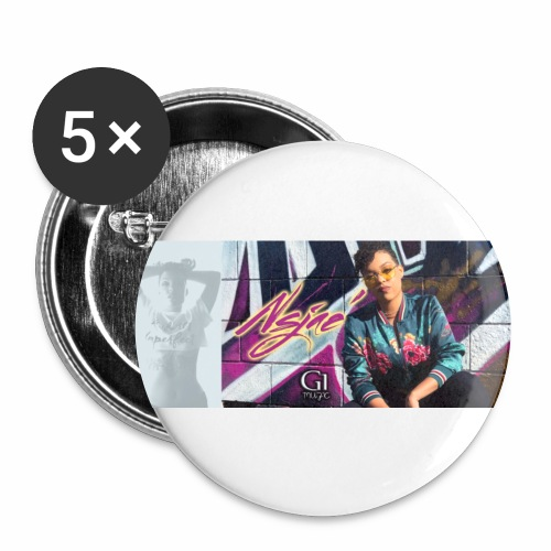 NSJAE Know Me - Buttons small 1'' (5-pack)