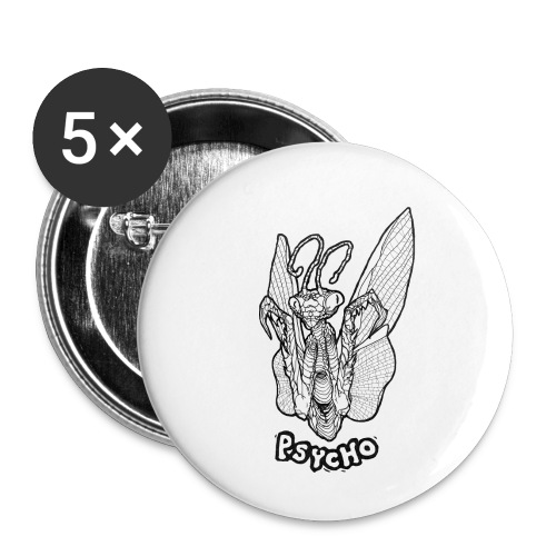 PSYCHO - Buttons small 1'' (5-pack)