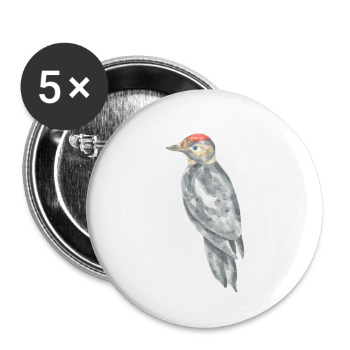 Bird - Buttons small 1'' (5-pack)