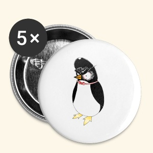 Angry Penguin - Small Buttons