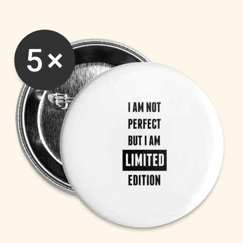 One of a kind - Buttons small 1'' (5-pack)
