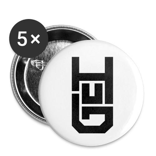 HUG LOGO - Small Buttons