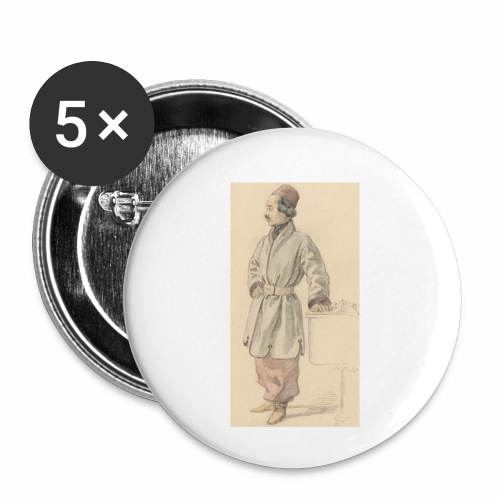 rs portrait sp 01 - Buttons small 1'' (5-pack)