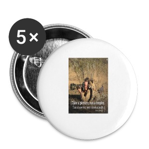 Love Animal, t shirt , live and let live, - Small Buttons