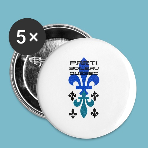 party boileau 9 - Buttons small 1'' (5-pack)