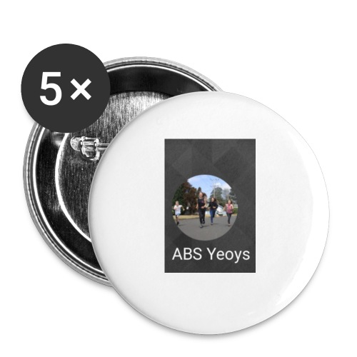ABSYeoys merchandise - Buttons small 1'' (5-pack)