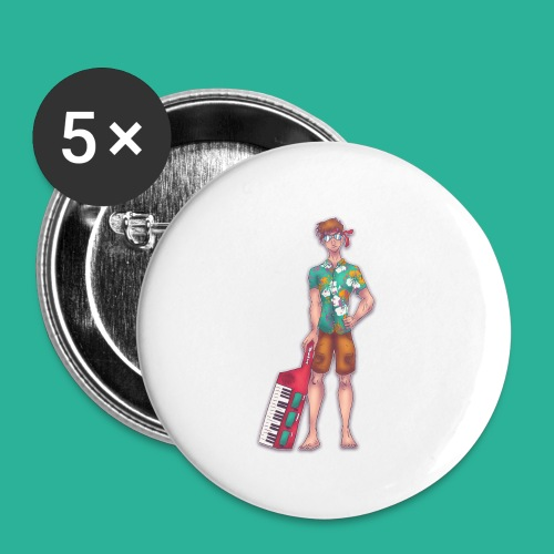 Wendal The Weed Wizard - Buttons small 1'' (5-pack)