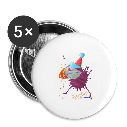 MR. PUFFIN - Buttons small 1'' (5-pack)