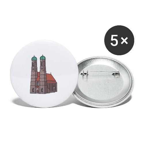 Munich Frauenkirche - Buttons small 1'' (5-pack)