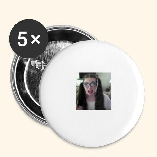 Melaknee Bigglesworth - Buttons small 1'' (5-pack)