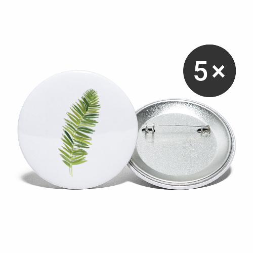 Fern - Buttons small 1'' (5-pack)