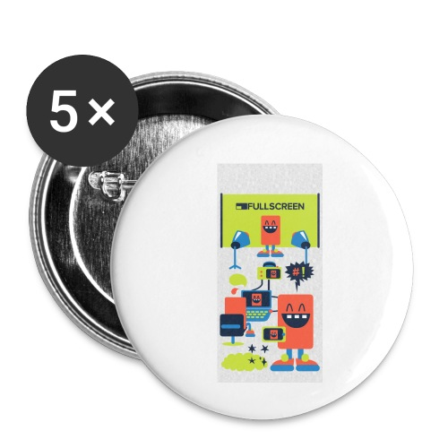 iphone5screenbots - Buttons small 1'' (5-pack)
