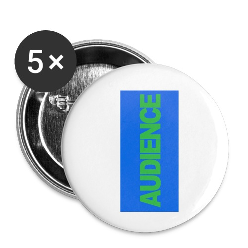 audiencegreen5 - Buttons small 1'' (5-pack)