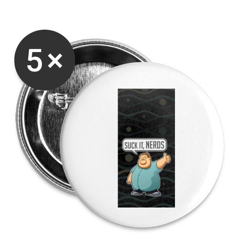 nerdiphone5 - Buttons small 1'' (5-pack)