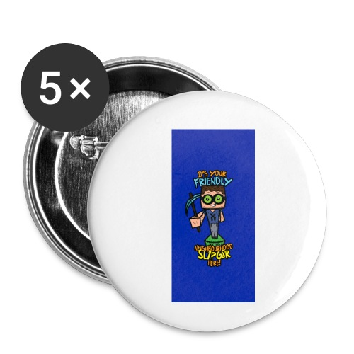 friendly i5 - Buttons small 1'' (5-pack)
