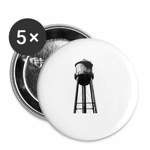 Water Tower - Buttons small 1'' (5-pack)