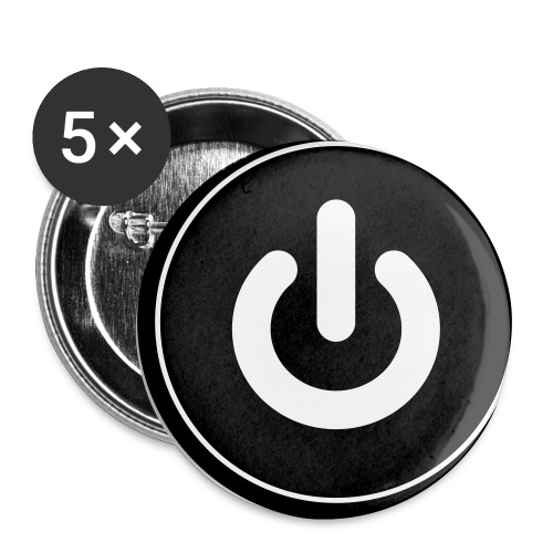 Power Button - Buttons small 1'' (5-pack)