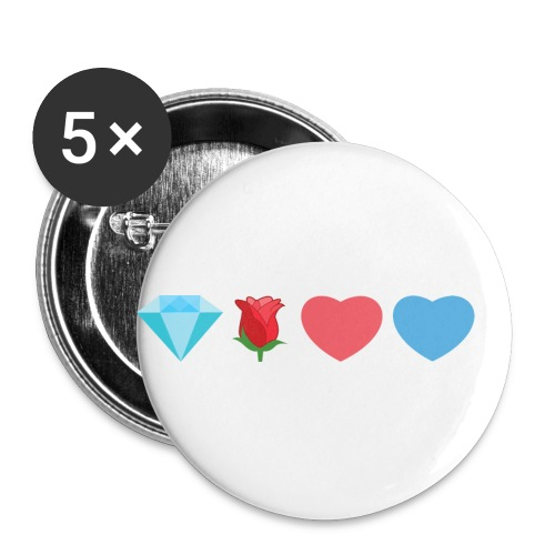 Dre's Illustration - Buttons small 1'' (5-pack)