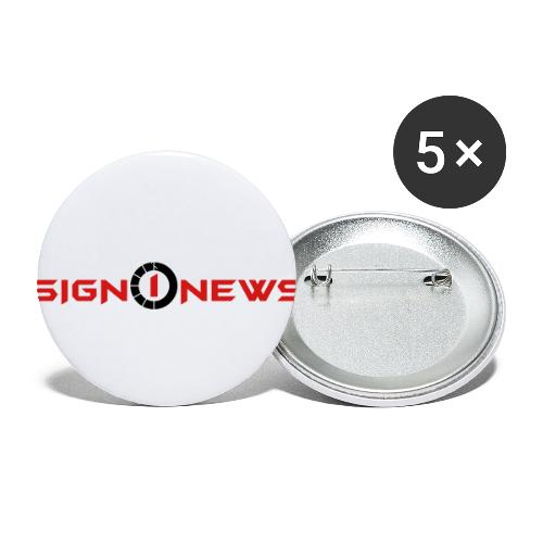 Sign1Gear - Buttons small 1'' (5-pack)