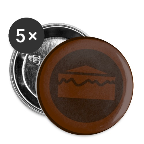 Team Chocolate Icon png - Buttons small 1'' (5-pack)