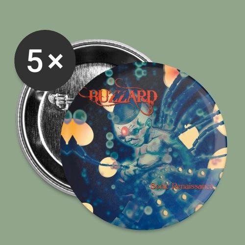 Buzzard Sonic Renaissance button - Buttons small 1'' (5-pack)