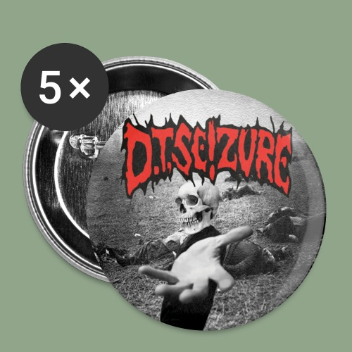 D T Seizure Hand of Doom Button - Buttons small 1'' (5-pack)