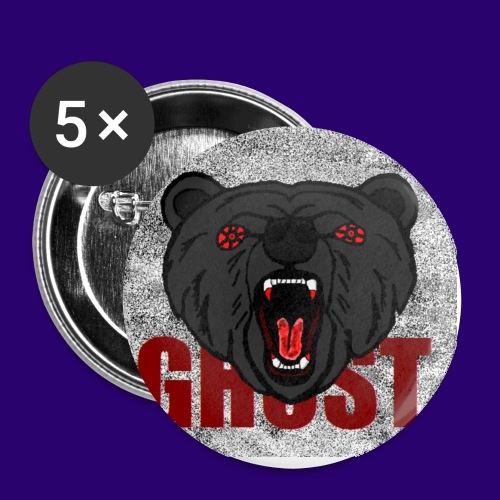 Illusive Ghost Logo - Small Buttons