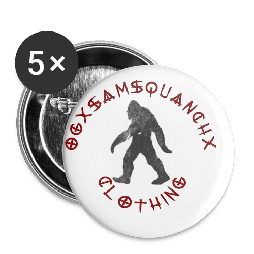 Ogxsamsquanchx Clothing - Buttons small 1'' (5-pack)