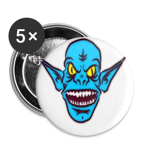Alien Troll - Buttons small 1'' (5-pack)