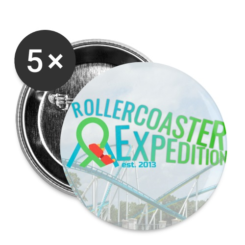 ROLLERCOASTER EXPEDITION - Small Buttons