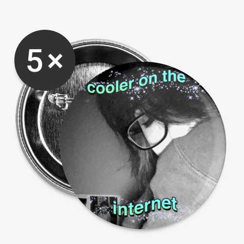 Cooler on the internet - Small Buttons